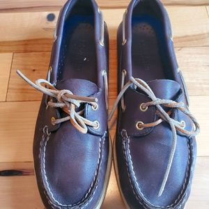 Sperry Brown Leather Authentic Original Boat Shoe